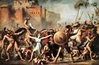 Intercession of Sabine Women by L David (French Neoclassical Masterpiece print)