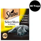 Sheba+Select+Slices+Wet+Cat+Food+85g+Poultry+Collection+In+Gravy+48+Or+96+Trays