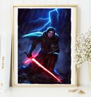 Kylo Ren - Ben Solo - Art Print - Star Wars Episode 7 8 $5.0 USD