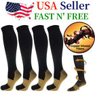 Kyпить 4 Pairs Compression 20-30mmHg Support Socks Relief Miracle Calf Men's Women's на еВаy.соm