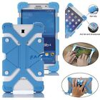 "For 7"" 8"" 9"" 10"" 10.1"" inch Tablet Shockproof Universal Silicone Gel Case Cover"