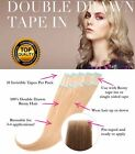 skin weft hair extensions - US STOCK DOUBLE DRAWN Seamless skin weft Tape In PU Human Hair Extensions