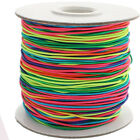 Round Elastic Cord 0.6mm 1mm 1.5mm 2mm 3mm - Choose Colour and Length  UK Seller