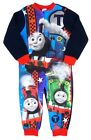 Thomas Percy and James  All In One Pyjama Sleepsuit Fleece 18-24M To 4-5Y