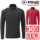 PING LARGO JUMPER PING GOLF JUMPER NEW ** SALE PRICE ** MENS GOLF ZIP PULLOVER