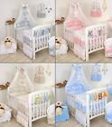 NURSER BABY COT-COT BED SET BUMPER+COVERS+DUVET+MORE- BABY GIRL -BOY TEDDY MOON