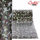 Digital Camo Vinyl Wrap / Matte Camouflage Decal Graphics / Air/Bubble Free UV+