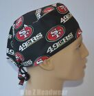 San Francisco 49ers NFL Football Team Collection Unisex Surgical Scrub Hat Cap