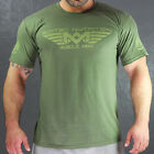 Scitec Nutrition T-Shirt Muscle Army Woodland Fitness Training Sport Freizeit