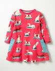 New-MINI-BODEN-Girls-Pink-Dogs-Puppies-Print-Tunic-Top