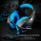 PC Gaming Headset for PS4 3.5mm Stereo USB LED Headphones With Microphone