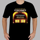 Foreigner Whitesnake Jukebox Heroes Tour 2018 Men's Black T-Shirt Size S to 3XL