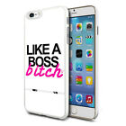 For Various Phones Design Hard Back Case Cover Skin - Like A Boss Bitch
