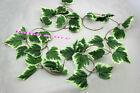 6.2FT-8.2FT Artificial Ivy Leaf Garland Plants Fake Foliage Flowers Home Decor