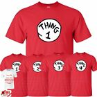 Thing 1 2 3 4 Kids T-Shirt Funny Costume Inspried World Book Day Gift T-Shirt