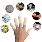 EvridWear Cotton Finger Toe Thumb Cots Protection Extend Life of Glove, 2 sizes