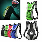 2L Bike Bicycle Hydration Pack Backpack Bag+2L Water Bag Camelbak Cycle Hiking Y