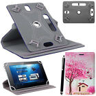 Universal 360°Rotating tab Cover Case Stand Fit for Alcatel A3 10