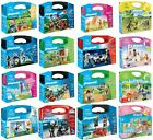 Playmobil Carry Cases - Wildlife, Pirate Raider & Many More!