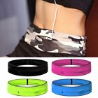 Flip Style Waist Travel Belt For Exercise Fitness & Running Belt Bag Pouch US image