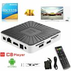 LOT Pro Android7.1 RK3328 TV Box 4Core HD 4K WiFi Media Player 1/8G 2.4G WIFI OY
