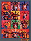 Peter Max Liberty And Justice For All Art Silk Poster 12x18 24x36 24x43