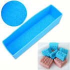 Silicone Soap Mould DIY Cake Chocolate Tray Baking Tools Candle Mold Crafts