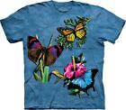 The Mountain Unisex Erwachsen Winged Collage Nature T Shirt