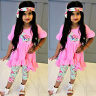 kids easter outfits - Toddler Kids Baby Girls Easter Top Dress Pants Leggings Outfits Set Clothes HZ