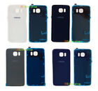 Replacement Rear Glass Back Battery Cover+Adhesive for Samsung Galaxy S6/S6 Edge
