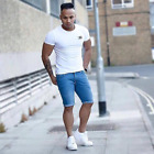 Muscle fit t shirt England & Rose designer white mens T shirts sizes small to XL