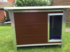 Heavy Duty Plastic Dog Kennel House - Easy clean - UK Built - Free Delivery
