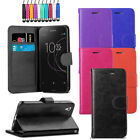 Leather Flip Wallet Case Magnetic Cover For Sony Xperia L1 + Screen + Stylus