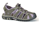 LADIES HI TEC SANDALS SHORE WOMENS TAUPE/DUNE/ELDERBERRY