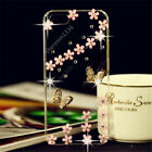 3D Bling Handmade Soft TPU Ultra Thin Transparent Back Case Cover Y04 #2