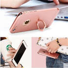 Ultra thin Case Cover with Ring Holder For iPhone Model Full Body Hybrid Case