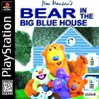 Jim Henson's Bear in the Big Blue House Sony PlayStation 1 PS1 Game COMPLETE !