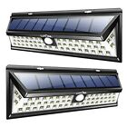 LED SOLAR Outdoor Lighting W/Motion Sensor Porch Patio Driveway Garden 2 Pack