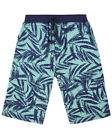 Lilly and Sid Boys Tropical Palm Board Shorts