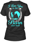 Horse Riding To The Barn And Back - I Love You Gildan Women's Tee T-Shirt