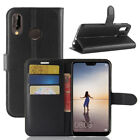 For Huawei P20 Plus P8 P9 P10 Lite 2017 Magnetic Leather Wallet Flip Case Cover