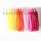 Colorful Paper Tissue Tassels Wedding Party Garlands Bunting Ballroom Decoration