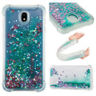 For Samsung Galaxy J3 J5 J7 Pro Shockproof Bling Glitter Quicksand TPU Case Cove