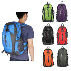 40L Unisex Outdoor Bike Backpack Hiking Day Packs Luggage Shoulder Bag Rucksack