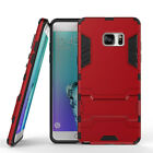 For Samsung Galaxy Phones Thin Silicone Anti Scratch Tough Case Cover With Stand