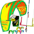 New 2017 Fone Bandit Kiteboarding Kite Surf Complete w F-One 2018 Linx Bar Set