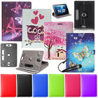 'For Amazon Kindle Fire 7 8 8.9 10 Tablet Universal Leather Stand Case Cover