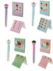 CUPCAKE KOKESHI DOLL NAIL EMERY BOARDS FILES OR SET WITH TWEEZERS