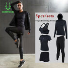 Set Women Yoga Running Suit Breathable Sport Jacket Shorts Pants Bra Fitness