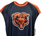 Majestic Chicago Bears Navy Men's Tank Top NFL Big and Tall nwt 5XL 5XLT 6XL $19.95 USD on eBay